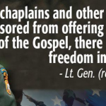 Court-martial Chaplains who talk about Jesus, says Pentagon. Take action!