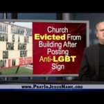Church Evicted From Building After Posting Anti-LGBT Sign