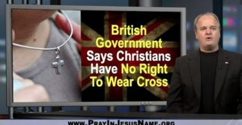 Christians have No Right to wear Cross, says British Government